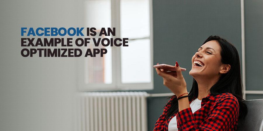 Voice search app